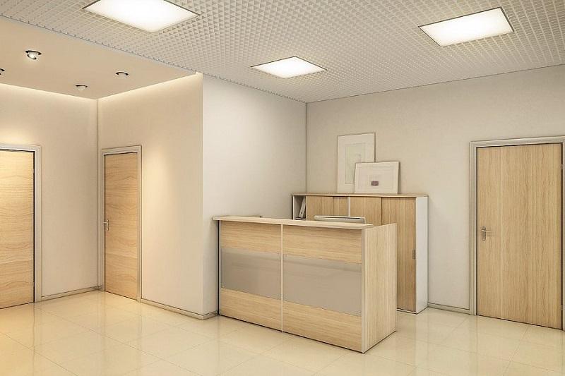 Элементы классического стиля интерьера в дизайн-проекте офиса